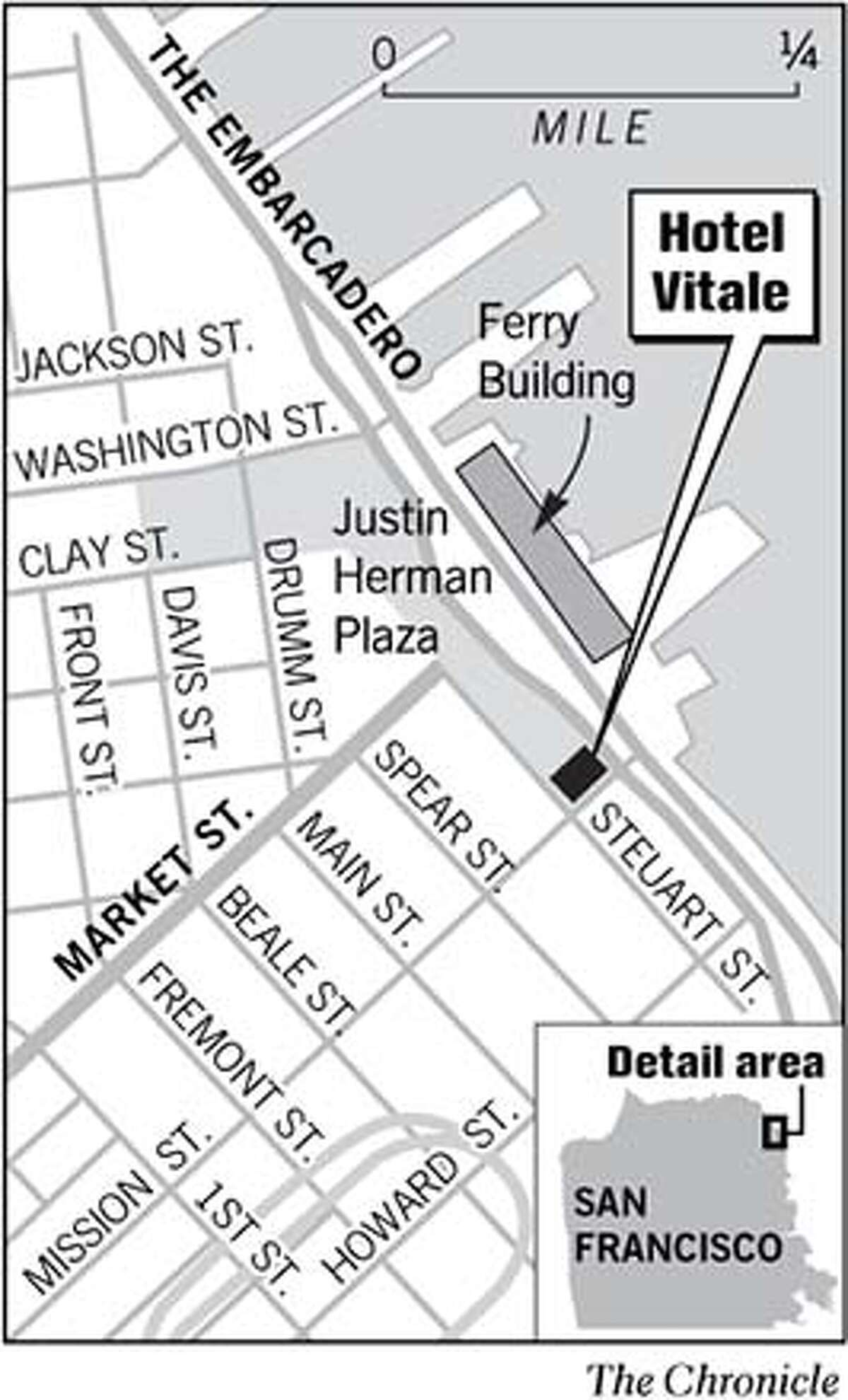 Hotel Vitale. Chronicle Graphic