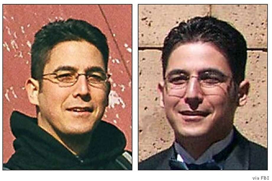 Daniel Andreas San Diego has not been heard from since the 2003 bombings, the FBI says. Photos courtesy of the FBI