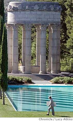 Historic Pulgas Water Temple reopens after two years in Mateo, Oct.25,2004. LACY ATKINS/SAN FRANCISCO CHRONICLE Metro#Metro#Chronicle#10/26/2004#ALL#5star##0422432106 Photo: LACY ATKINS