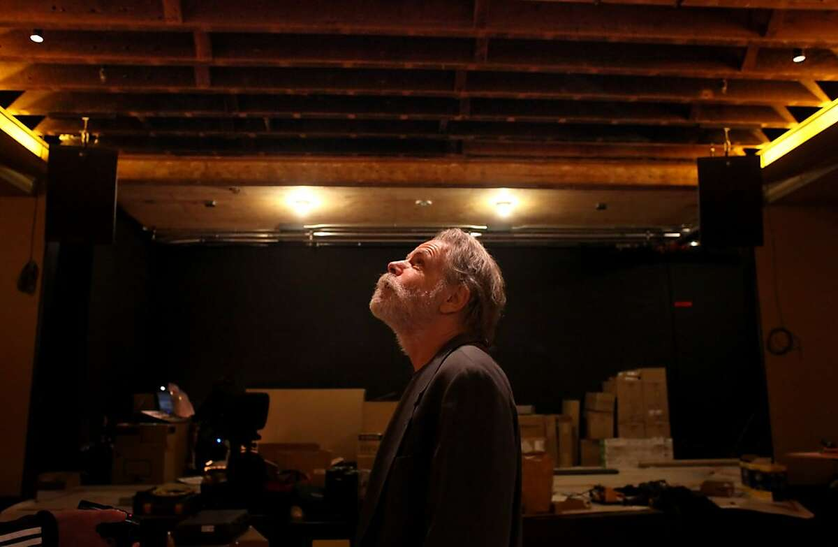 Bob Weir of the Grateful Dead sees the process of the construction of the new Sweetwater Music Hall for the first time since starting the project, Tuesday January 17, 2012, in Mill Valley, Calif. Weirr is the lead partner of the new location of the well loved music venue which is to open January 26.