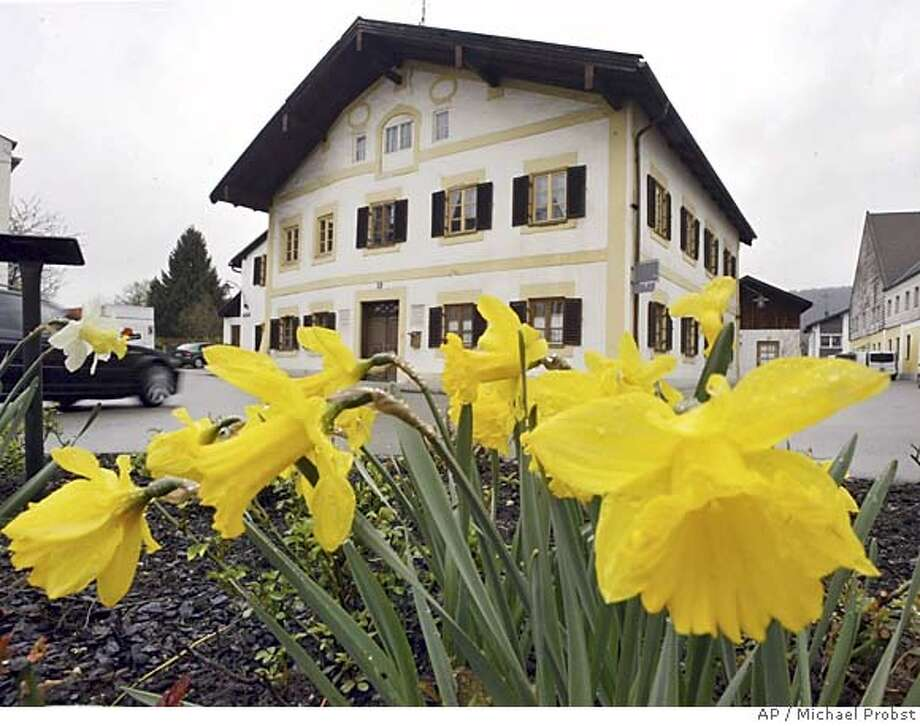 The birthplace of Cardinal Joseph Ratzinger in Marktl, southern Bavaria, Germany, Tuesday, April 19, 2005.Cardinal Joseph Ratzinger of Germany, a longtime guardian of doctrinal orthodoxy, was elected the new pope Tuesday evening in the first conclave of the new millennium. He chose the name Pope Benedict XVI. (AP Photo/Michael Probst) Photo: MICHAEL PROBST