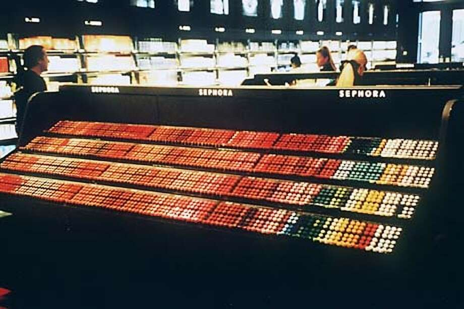 This is the lipstick display at Sephora. HANDOUT Photo: HANDOUT