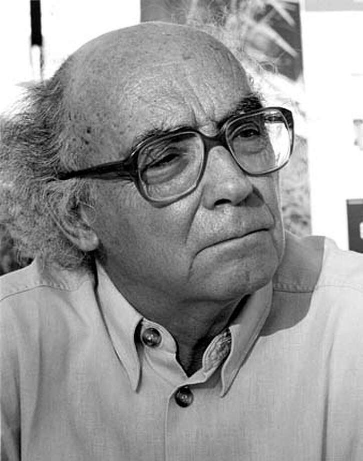 "Jose Saramago, author of ""The Double"" (Harcourt)  HANDOUT"