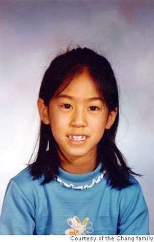 Iris Chang at 7 years old courtesy the chang family