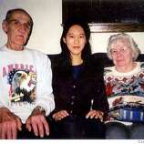 iris chang and bataan march survivor ed martel and his wife courtesy ed martel