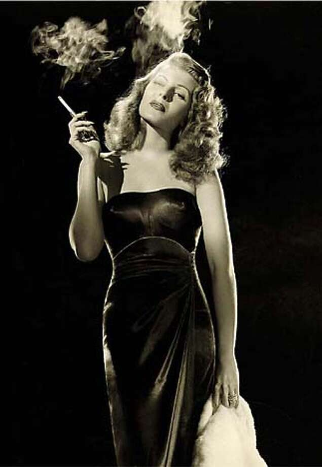 "Rita Hayworth in ""Gilda,"" Charles Vidor, 1946  From ""No Smoking"" (Assouline)  FOR USE WITH STORY ABOUT THE BOOK ONLY"