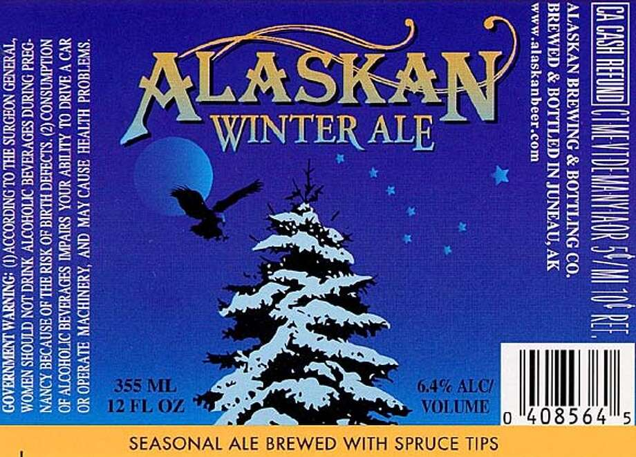 Spicy Brew: Sitka spruce tips are a special ingredient that goes into the Alaskan Brewing Co.'s winter ale.