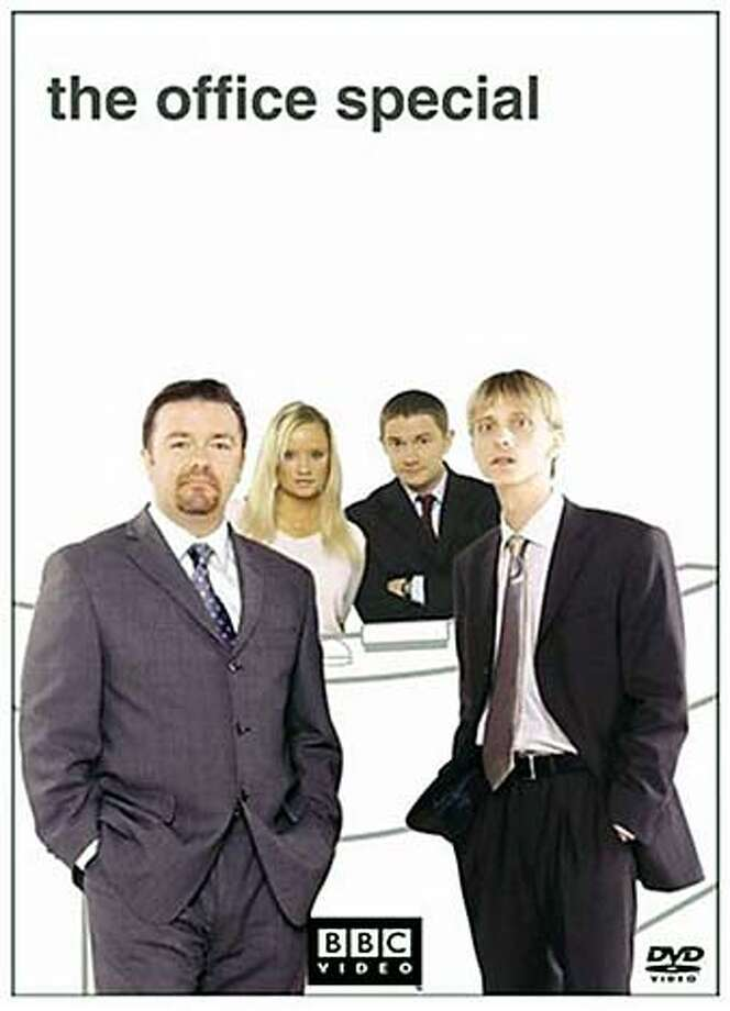 DVD cover art for The Office Special, DVD.
