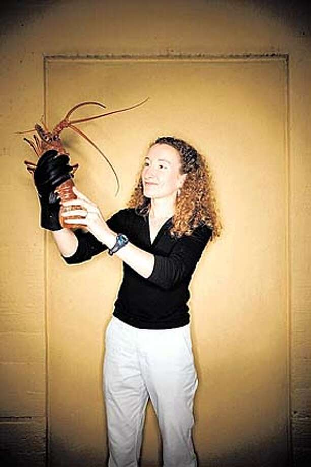 "Photo of Sheila Patek from Popular Science's ""Brilliant 10."""