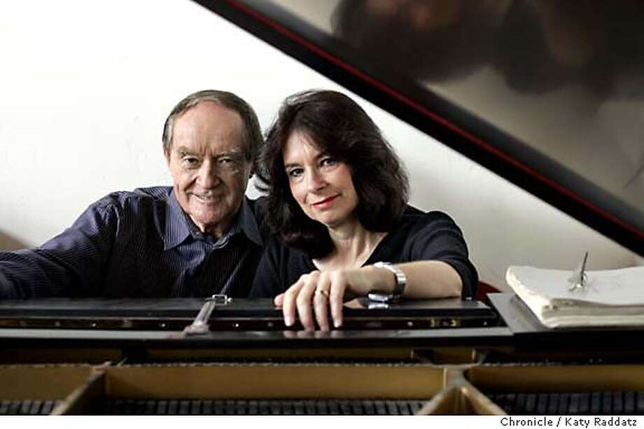 COLE006_rad.jpg SHOWN: A portrait of Robert Cole and Susan Muscarella at their piano in their Berkeley home. Robert Cole runs Berkeley's Cal Performances at Zellerbach Hall. He's married to Susan Muscarella, a jazz pianist who founded and runs Berkeley's Jazzschool. They're at home for this shoot. Jesse Hamlin is the writer for Living. Katy Raddatz / The Chronicle MANDATORY CREDIT FOR PHOTOG AND SF CHRONICLE/ -MAGS OUT Living#Living#Chronicle#10/24/2004#ALL#Advance#F1#0422416488 Photo: Katy Raddatz