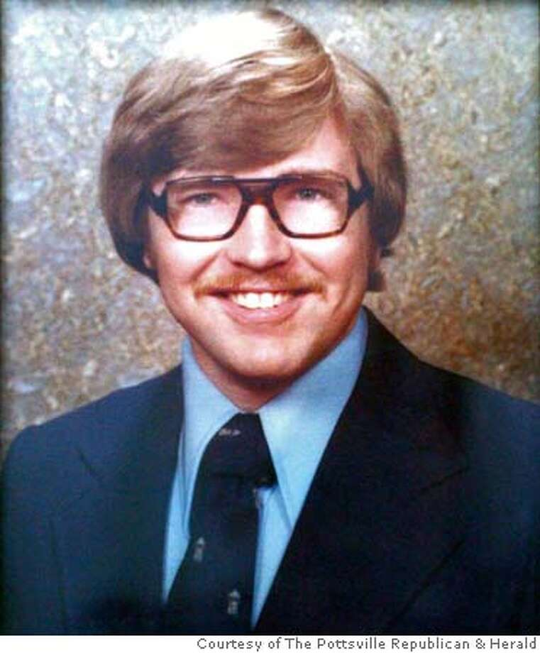 Joseph Coogan's college photo. Coogan was missing in California for over twenty years.  Photo by Andy Matsko/Courtesy of The Pottsville Republican & Herald Photo: Andy Matsko