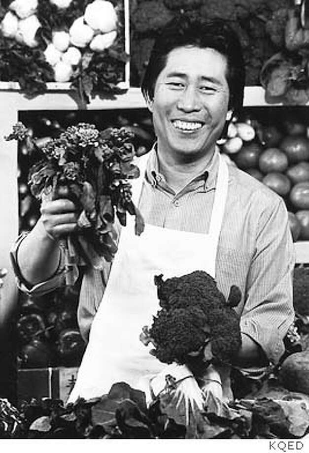 Martin Yan, host of Yan Can Cook, in 1988, the year the series premiered.  CREDIT: KQED