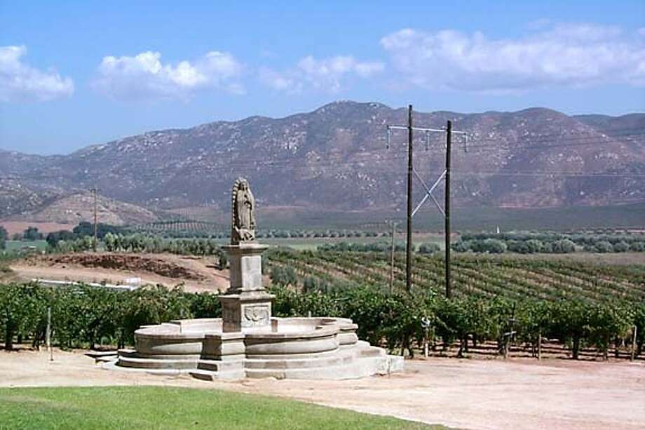 BAJAWINE10_008_ho.jpg  Handout photos of various wineries in the Mexican wine region.  View from Pedro Domec Winery. Photos courtesy Dave Clark Photo: HANDOUT