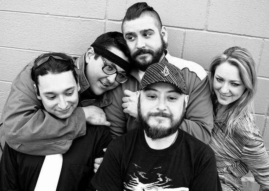 San Antonio alt-rock band The Hawks (of Holy Rosary) will play at the seventh anniversary show of Artslam! Saturday at White Rabbit. Courtesy photo Photo: Courtesy Photo