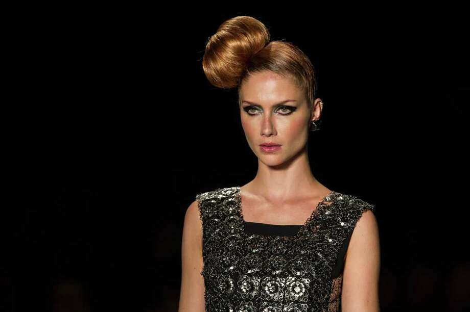 Model Ana Claudia Michels also in Make B  Photo: YASUYOSHI CHIBA, AFP/Getty Images / AFP