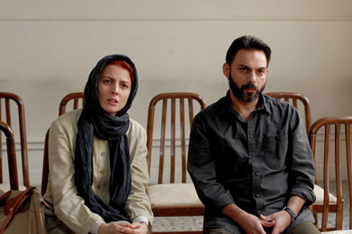 Leila Hatami as Simin and Peyman Moadi as Nader in