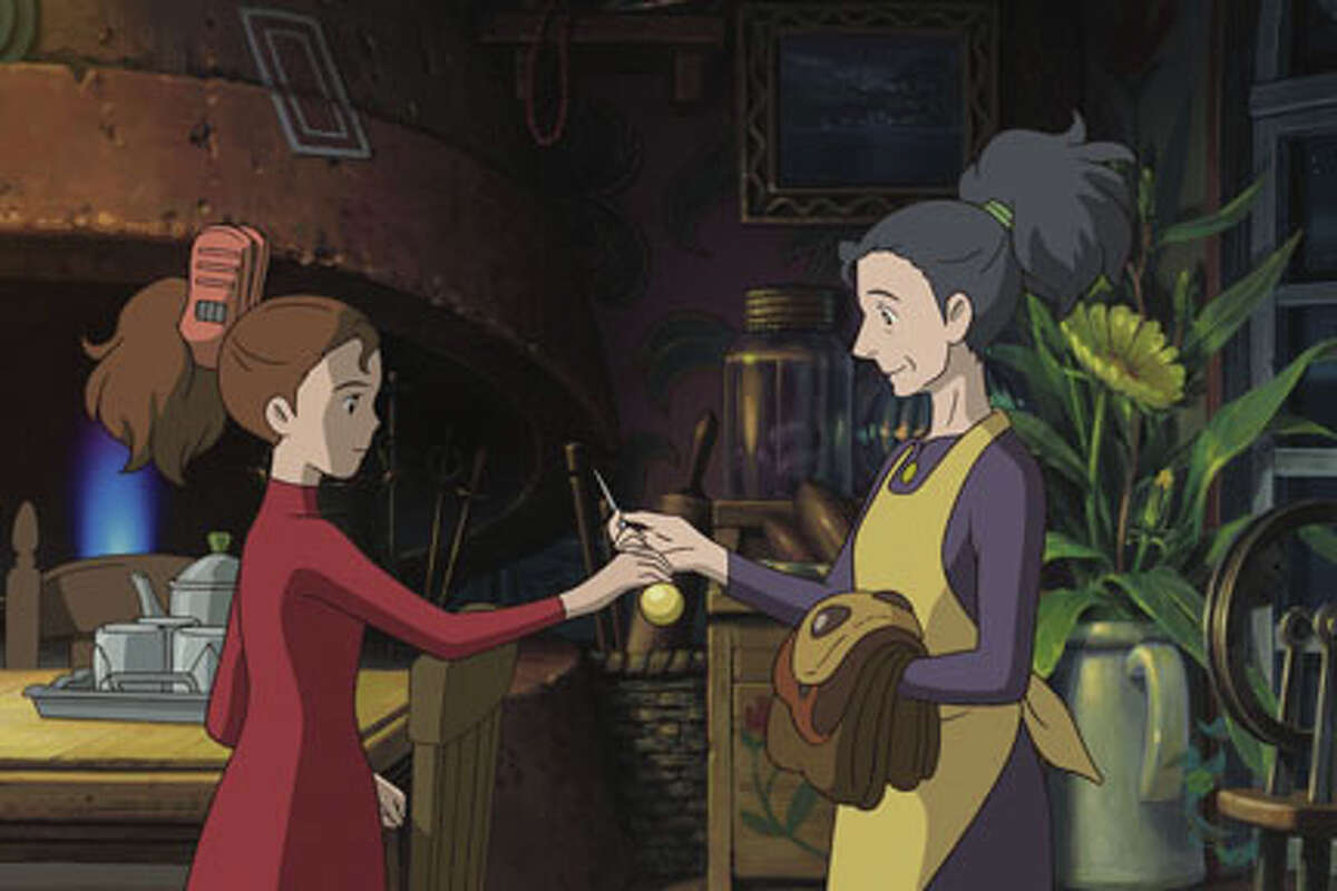 (L-R) Arrietty and Homily in