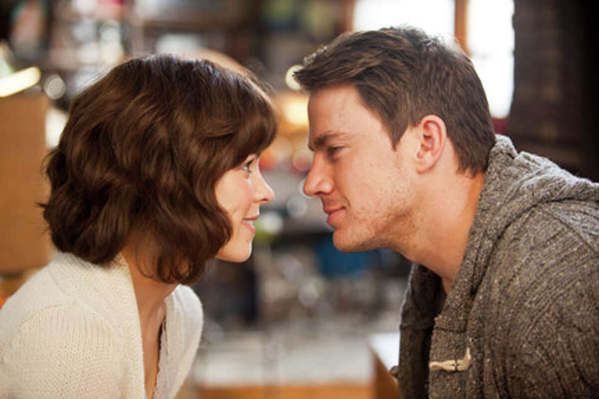 Rachel McAdams as Paige and Channing Tatum as Leo in
