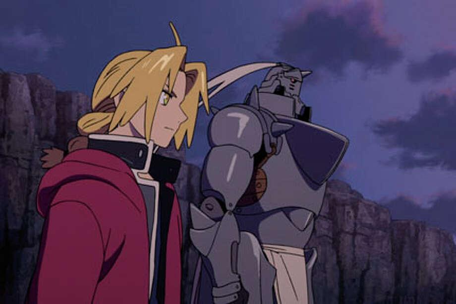 "A scene from ""Fullmetal Alchemist: The Sacred Star of Milos."""