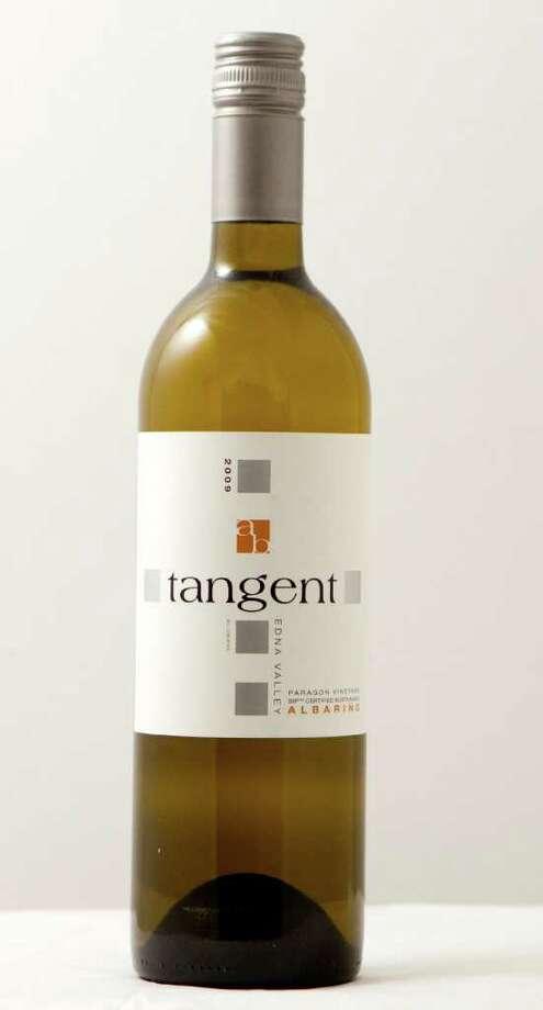 A bottle of 2009 Tangent Edna Valley Albarino is shown Wednesday, Jan. 18, 2012, in Houston. ( Brett Coomer / Houston Chronicle ) Photo: Brett Coomer / © 2012 Houston Chronicle