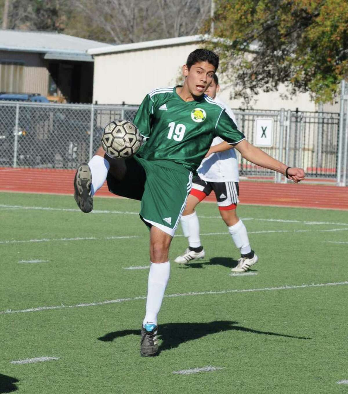 Klein Forest sophomore midfielder-forward Carlos Garza and the Golden Eagles are hoping to rise tothe top in District 13-5A this season.
