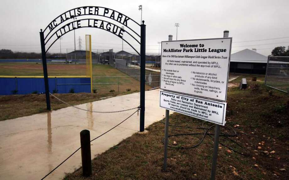 Bexar officials are hoping their new facilities will, like the city-owned McAllister Park Little League site, host  competitions that generate economic activity and draw visitors. Photo: Rowen@express-news.net, Bob Owen / © 2012 San Antonio Express-News