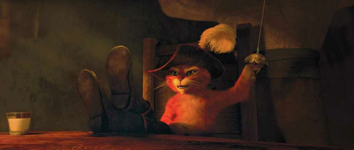 Puss in Boots was nominated for best animated feature.