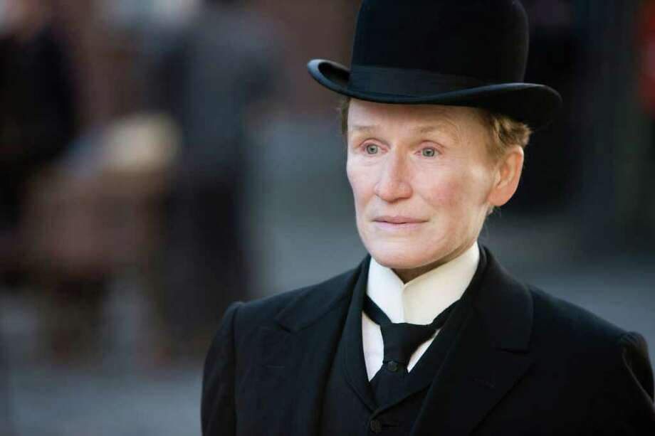 Albert Nobbs (Glenn Close), a woman posing as a man, dreams of one day having a wife. Photo: Patrick Redmond / Roadside Attractions