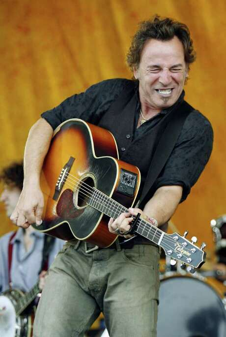 Bruce Springsteen gave a memorable performance at Jazz Fest in 2006. Photo: Alex Brandon / AP2006