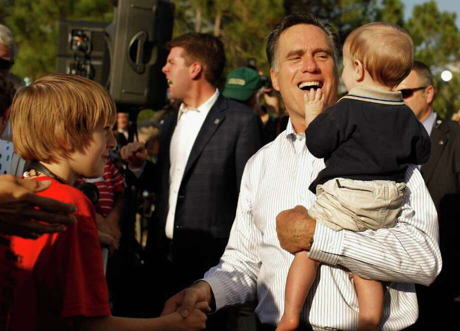 Mitt Romney released his tax returns while campaigning in Florida on Tuesday. The returns indicated that he has benefited from tax breaks for the wealthy but revealed no questionable dealings. Photo: Chip Somodevilla / 2012 Getty Images
