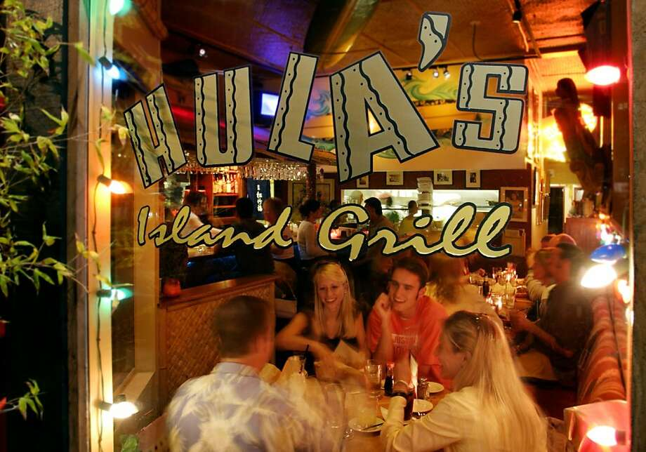 "TripAdvisor recognized Hula's Island Grill in Monterey among the top 25 ""everyday dining"" restaurants in the  U.S. It ranked 14. Photo: Hula's Island Grill & Tiki Room"