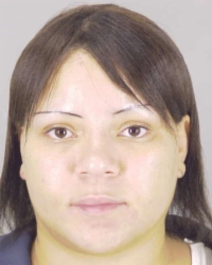 Ashley Nichole Sias, 27, of Beaumont was arrested on robbery charges. Photo provided by Beaumont Police Department.