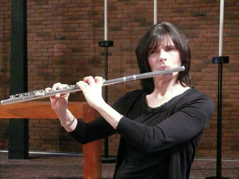 Flutist Cathy Newman will perform Sunday, Jan. 29, at the First Presbyterian Church of New Canaan. Photo: Contributed Photo