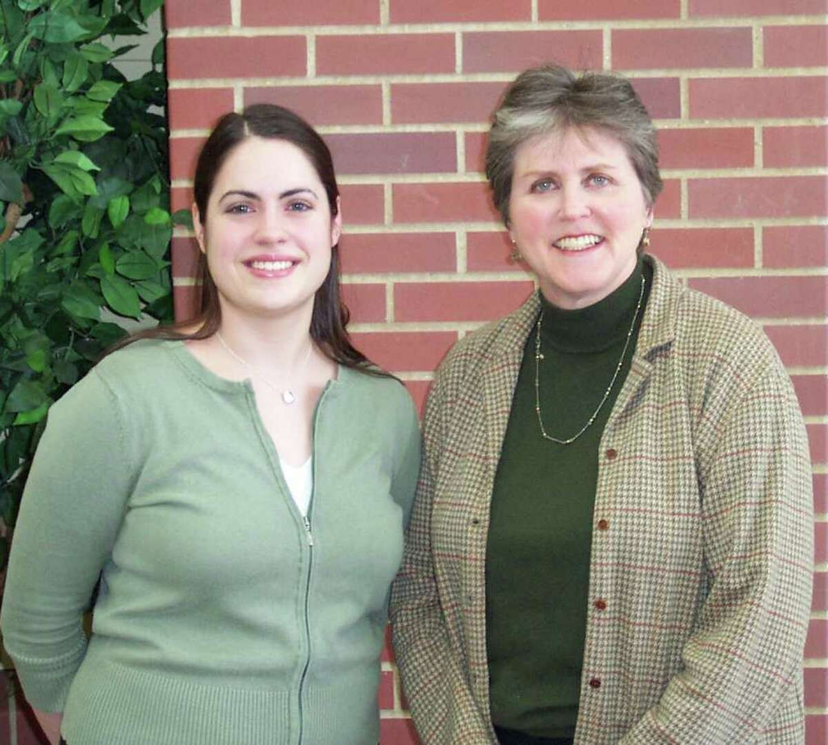 Sarah Ruggiero, director of social work at Waveny Care Center, and Ilene Sumberg, director of Wavenyís Adult Day Program, are co-leaders of the caregiver support group offered through Waveny Care Network.