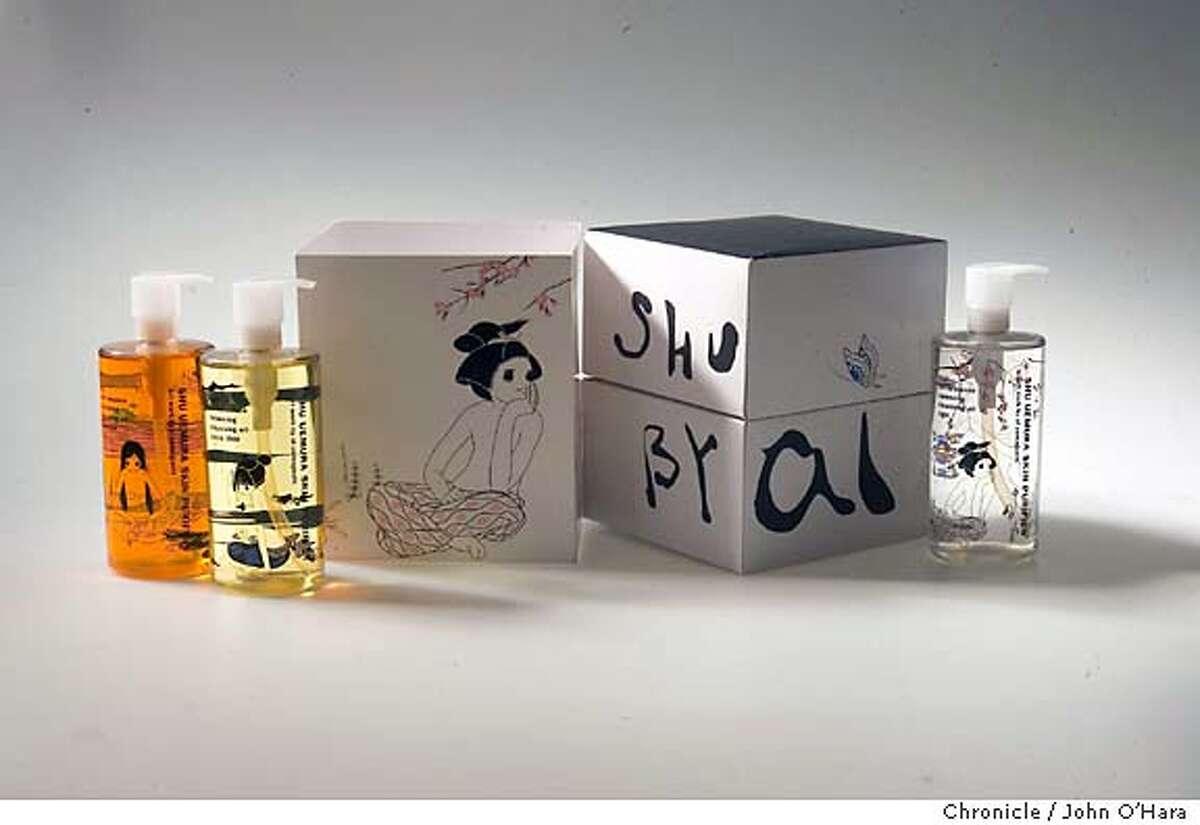 SF CHRONICLE STUDIO OIL CLEANSER 1 BOX Photo/John O'hara