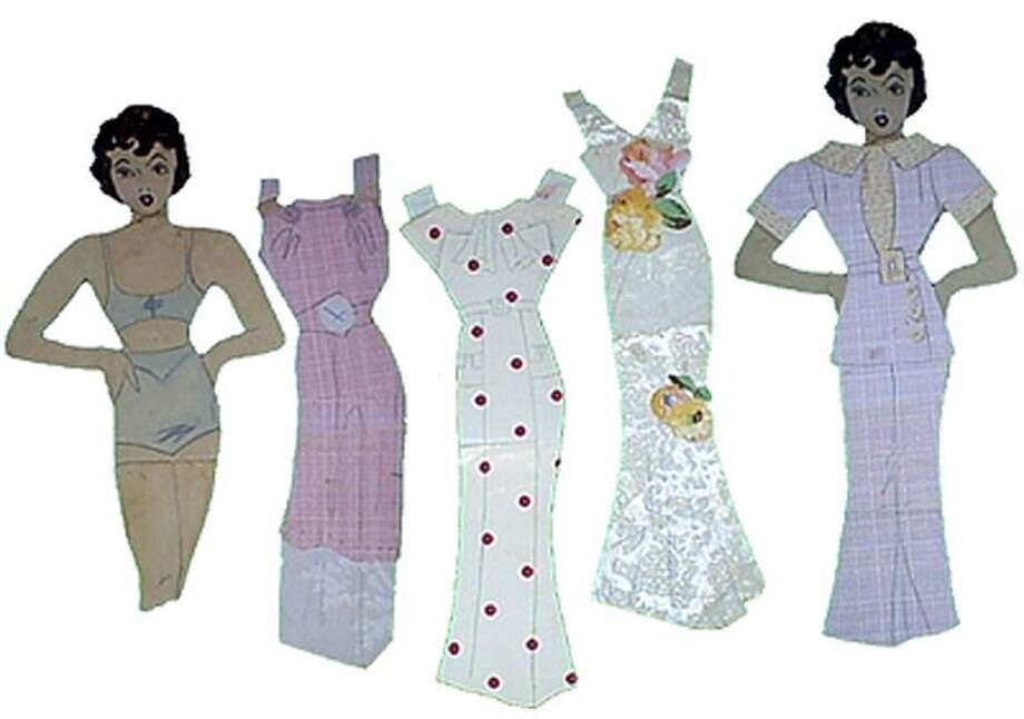 When times were lean, homemade paper dolls cheered a little girl. Photo: Alison Rood