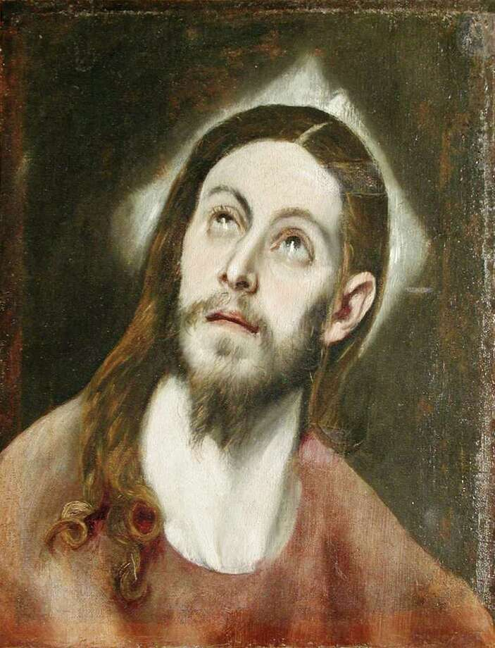 "Before conservation that included removal of old varish, grime and later after-paint, art experts had their suspicions that the McNay Art Museum's ""Head of Christ"" was not painted by El Greco. Photo: Courtesy Of The McNay Art Museum"