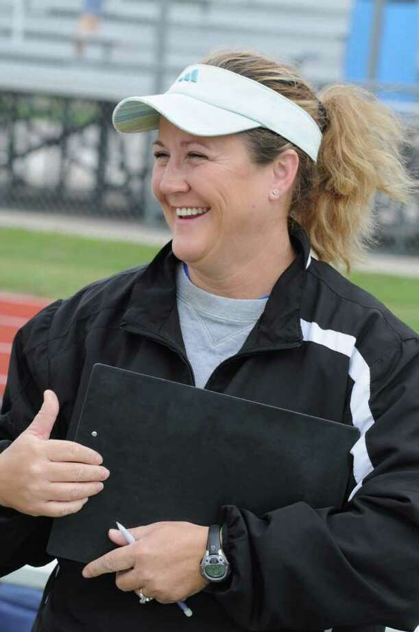 Friendswood girls soccer coach Laura Peter Photo: L. Scott Hainline / For The Chronicle