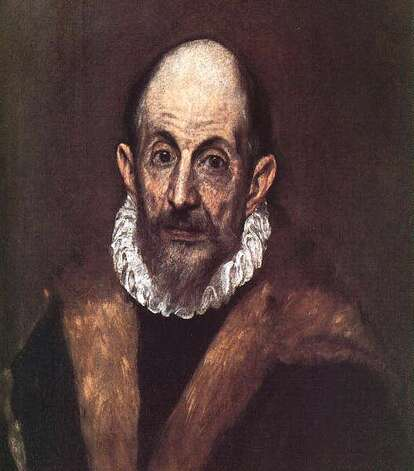 """Portrait of An Old Man"" (presumed self-portrait of El Greco), circa 1595–1600. Photo: Courtesy Of The McNay Art Museum"
