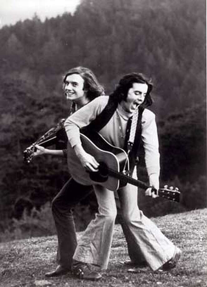 Photo of the Rowan Brothers (Chris & Lorin) in their early days.  Story running 11/3 in Datebook.