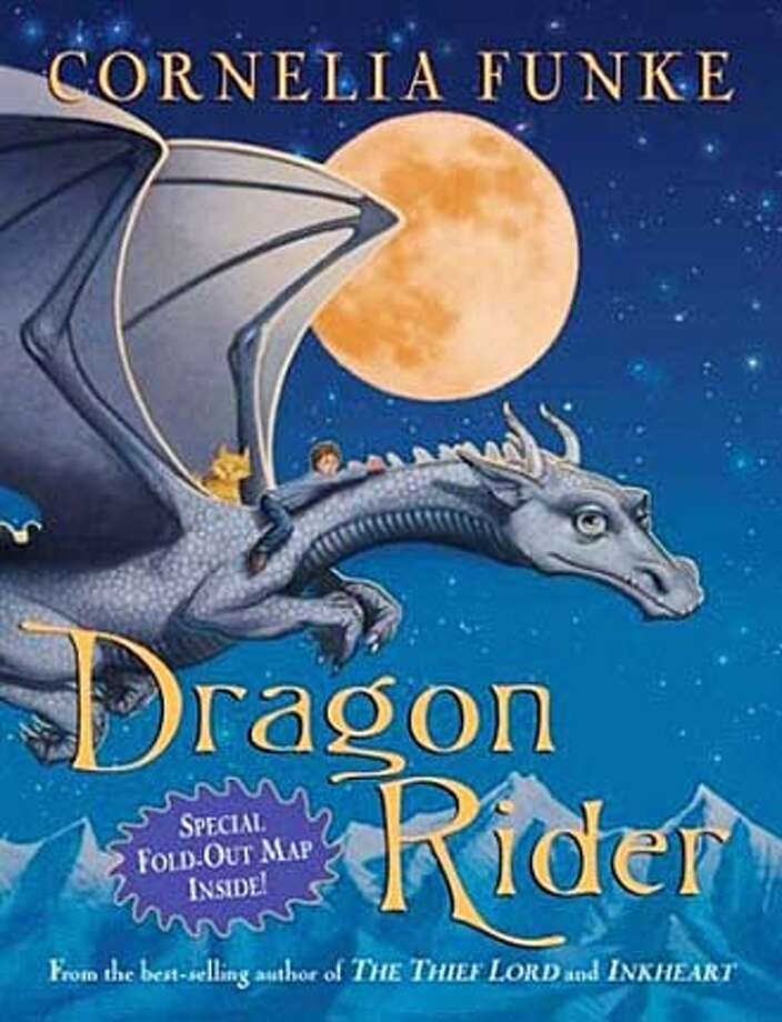 Book cover art for Dragon Rider.