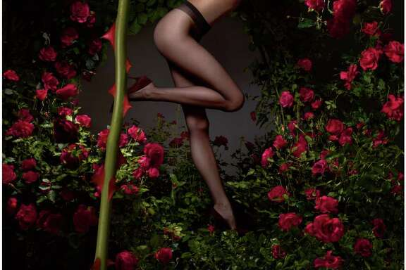 The new Lycra Fusion sheer pantyhose from Invista is run-resistant. (But watch out for the thorns.)