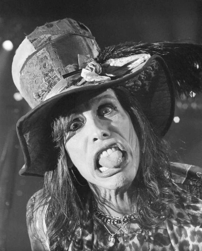 Joe Putrock./CLEMENT GALLERY Steven Tyler of Aerosmith (and ?American idol?) is among the stars in ?The Great Rock ?n? Roll Picture Show? ? photos by Martin Benajamin, Joe Putrock and John Whipple ? at the Clement Art Gallery, Troy, through Feb. 22.