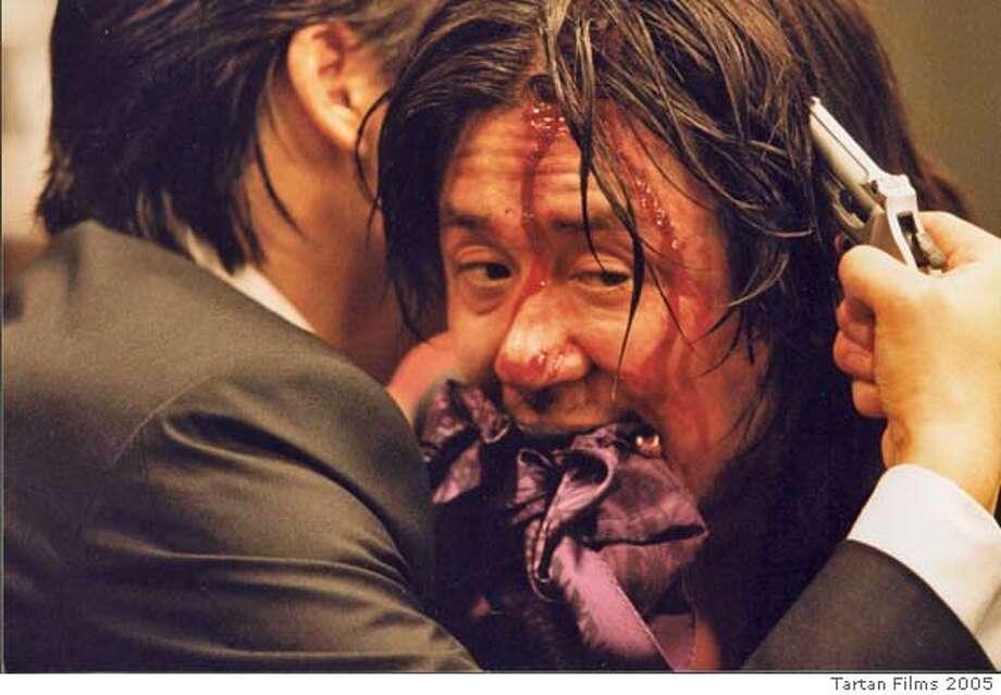 OLDBOY15 Choi Min-sik IN Oldboy. c. Tartan Films 2005