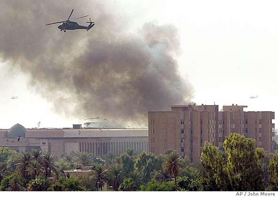 Bombers penetrate Green Zone -- 6 die / 4 U S  contractors