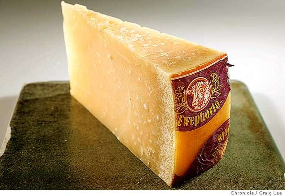 Polder, and aged sheep's milk Gouda from Holland. Food photo styled by Kate Benfield.  Event on 10/1/04 in San Francisco. Craig Lee / The Chronicle Photo: Craig Lee