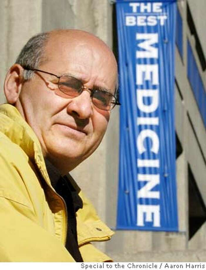 SPECIAL FOR SAN FRANCISCO CHRONICLE - John Kioussis photographed in front of Mount Sinai Hospital in Toronto Tuesday October 5, 2004. (CP PHOTO/Aaron Harris) Photo: Aaron Harris