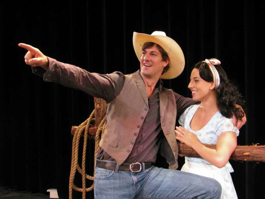 """Chris Berry and Constanza Aileen star in the San Pedro Playhouse's production of """"Oklahoma!"""" Photo: San Pedro Playhouse, Courtesy"""