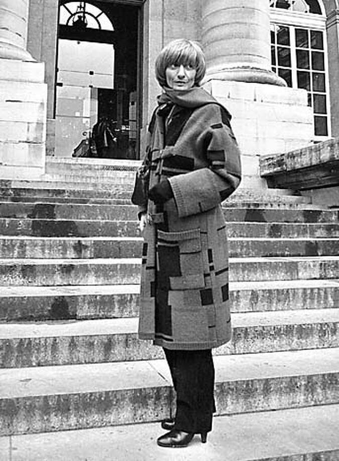 ** FILE ** French novelist Francoise Sagan is seen in this Jan.13 1981 file photo on the steps of the Paris courthouse. Sagan, 69, a close friend to former President Francois Mitterrand and former philosopher Jean-Paul Sartre, died Friday Sept. 24, 2004 in Honfleur, western France. (AP Photo/files, Merliac) 1981 FILE PHOTO Living#Living#Chronicle#10/10/2004#ALL#Advance#F3#0422371852 Photo: MERLIAC