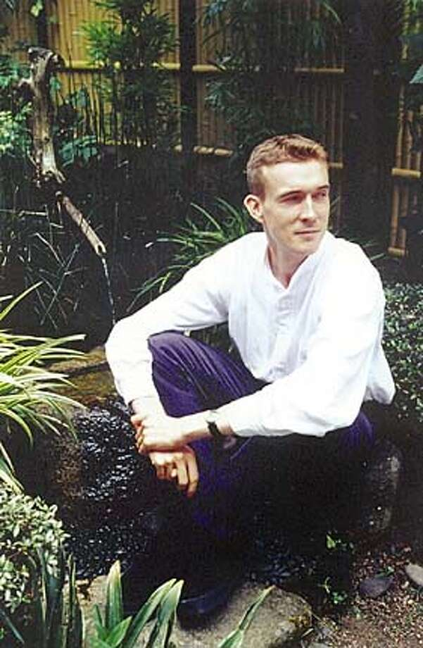 Photo of author David Mitchell. For: